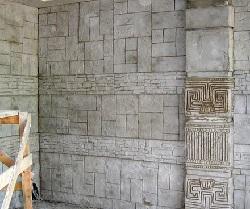 фото Декоративный штампованный бетон