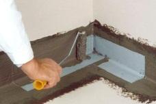 фото Гидроизоляция ванной комнаты