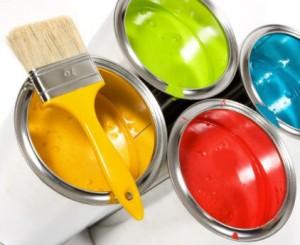 Краска для стен фото