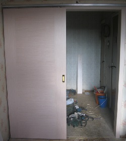 фото Сборка двери купе