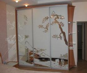 Шкафы-купе в интерьере фото