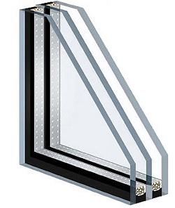 Стеклопакет с энергосберегающим стеклом фото