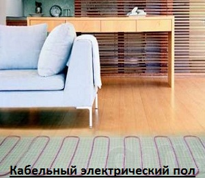 Теплый пол фото