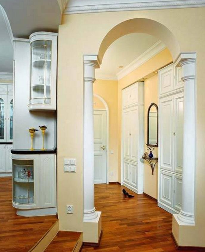 Веяния запада в дизайне квартир - совмещенные кухни.
