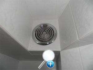 Бесшумный вытяжной вентилятор в ванной