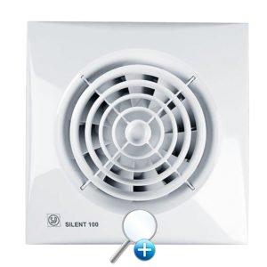 Бесшумный вытяжной вентилятор