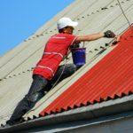 Покраска крыши дома: основные моменты