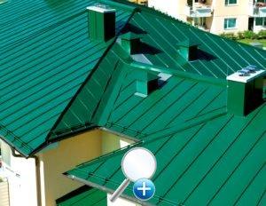 Окраска стальных крыш