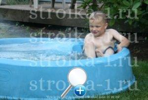 Пластиковый бассейн для детей - простота, красота, надежность и выгода для бюджета