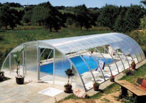 Крытый бассейн на даче