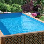 Прямоугольный уличный бассейн для дачи: выбираем и устанавливаем