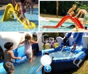 Бассейн с горкой для детей - это гораздо веселее и интереснее обычного
