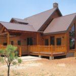 Стропила, обрешетка и черепица для крыши бревенчатого дома