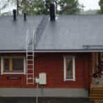Правильное изготовление лестницы на крышу дома