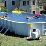 Виды, особенности и установка сборных бассейнов на даче