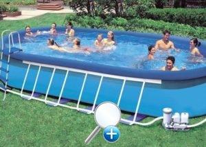 Стержневая модель бассейна