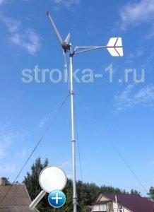 Ветрогенераторы выступают альтернативным источником энергии и страхуют от потерь электроэнергии