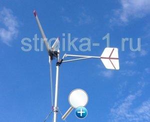 Ветряк средних размеров в состоянии обеспечить электричеством жилой дом