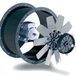 Где применяется  вентилятор осевой вытяжной промышленный?
